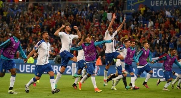 Италия – Бельгия 2:0