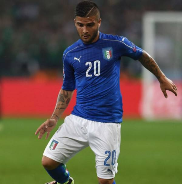Лоренцо ИНСИНЬЕ, полузащитник сборной Италии и «Наполи»