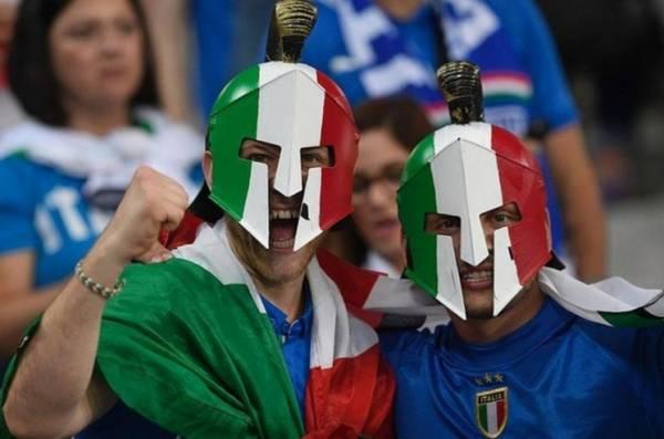 Италия, все так же, выжидала
