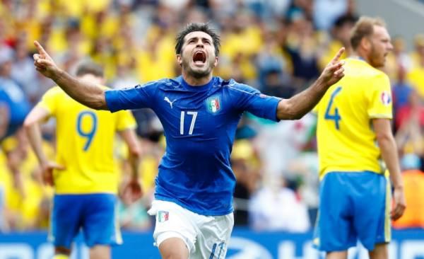 ЭДЕР, нападающий сборной Италии, автор победного гола