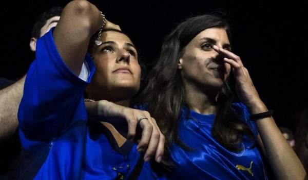 Италия завершает чемпионат Европы на стадии четвертьфинала
