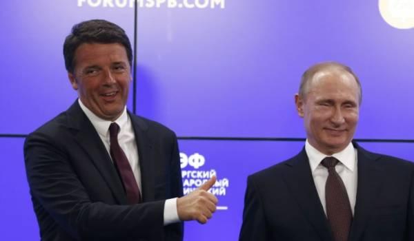 Рим против санкций по отношению к России