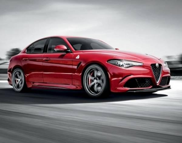 Модель «Giulia Quadrifoglio Verde» от маэстро «Alfa Romeo»