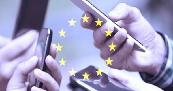 В ЕС больше не будет роуминга