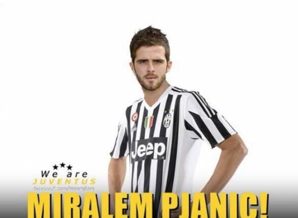 Миралем Пьянич, 26-летний центральный полузащитник, родился в Боснии и