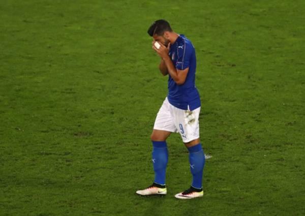 Грациано ПЕЛЛЕ, нападающий сборной Италии