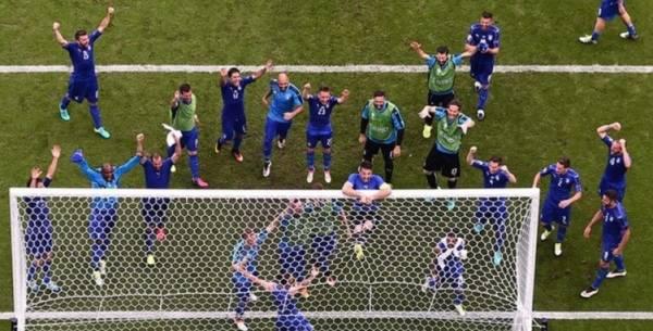 сборная Италии выходит в четвертьфинал Евро – 2016