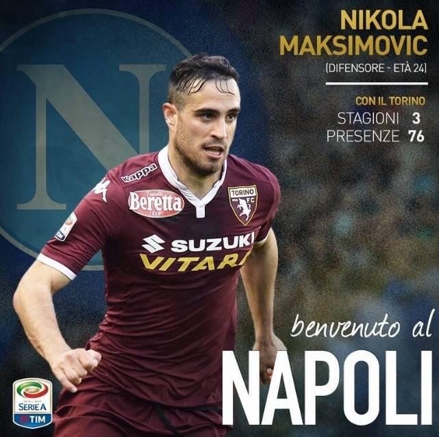 Вальдифьори переходит из«Наполи» в«Торино»