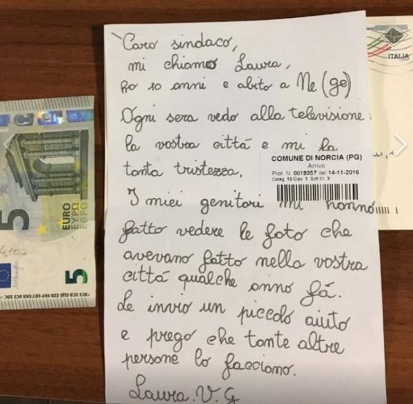 Лигурия. 10-летняя девочка пожертвовала деньги на восстановление город