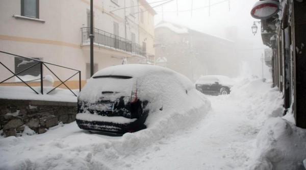 Арктический холод окутывает Италию, пик низких температур