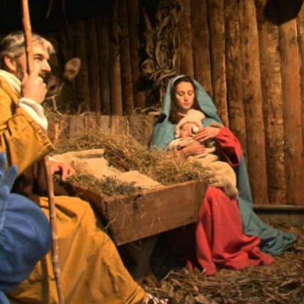 Авеллино. Чудесные живые картины в Джезуальдо в сценах рождественского вертепа