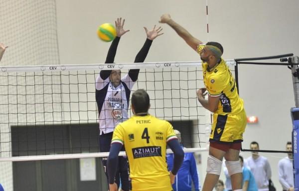 Эрвин Нгапет, звездный игрок «Azimut MODENA», волейболист сборной Фран