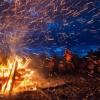 Авеллино. Ночь Большого Костра в Нуско