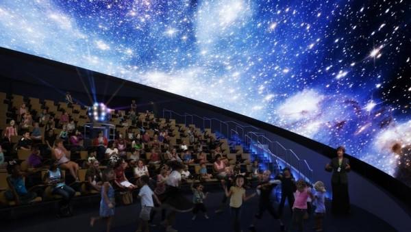самый большой 3D планетарий Италии