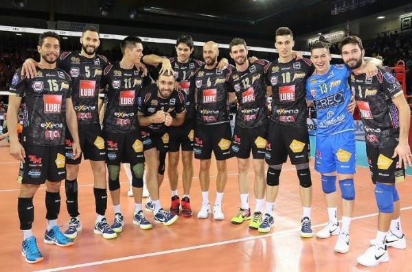 Волейболисты из Италии очень уверенно победили своего конкурента