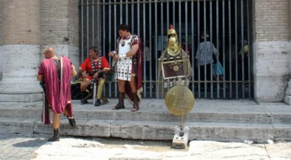 Римские «гладиаторы» оштрафованы на 800 евро