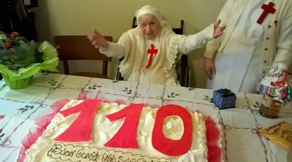 Кандида Беллотти – самая старшая монахиня Италии