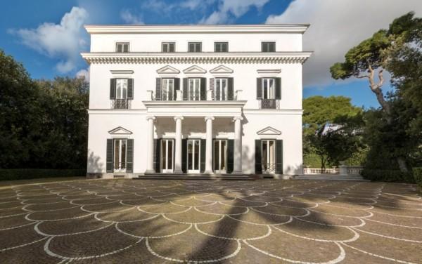 в Неаполе: вилла Villa Rosebery открыта для бесплатного посещения