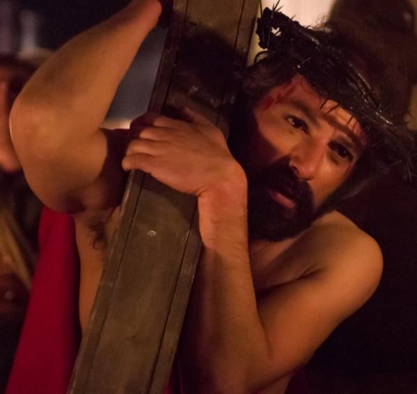 в городке Равелло - инсценировка последнего смертного пути Иисуса