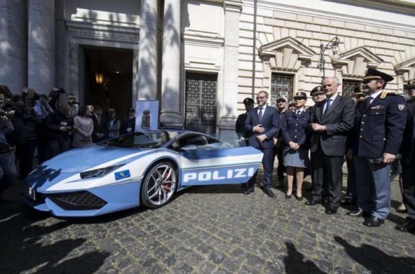 Итальянская полиция получит новый сверхбыстрый Lamborghini