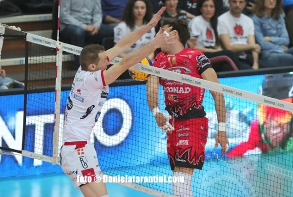 DIATEC TRENTINO – SIR SAFETY CONAD PERUGIA 3:1