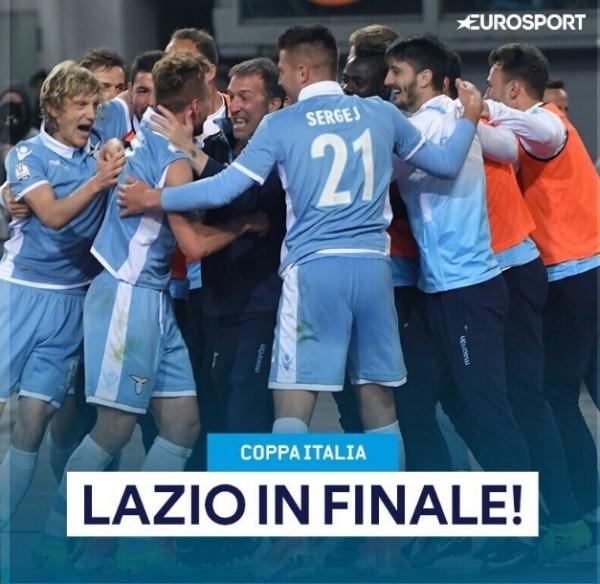 Рома – Лацио 3:2 (1:1). Первый матч 0:2