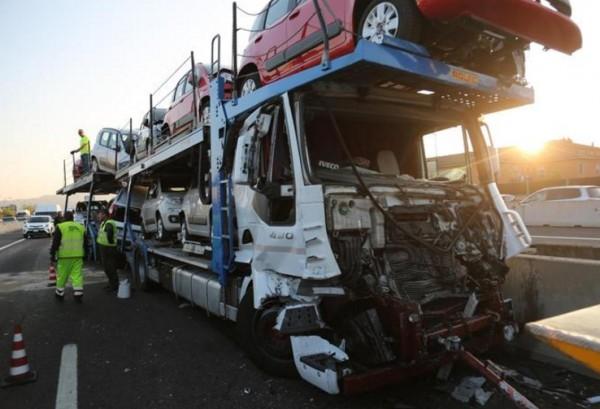 Дорожная авария в Болонье: 16 раненых