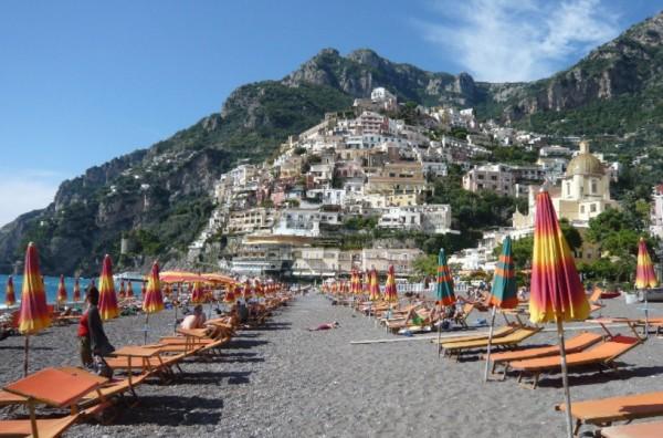 пляжи региона Кампания - Позитано (Positano), Салерно