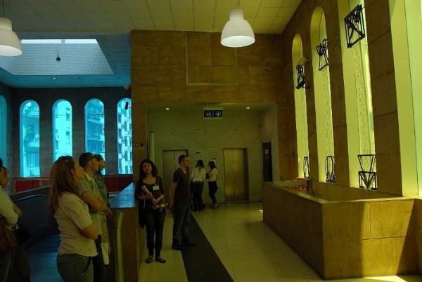 Неаполь метро - станция Сальвадора Розы в Неаполе (Salvator Rosa) Источник: #Италия http://napoli1.com/load/0-0-0-95-13