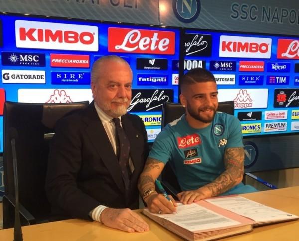 Лоренцо Инсинье заключил новый контракт с клубом Наполи