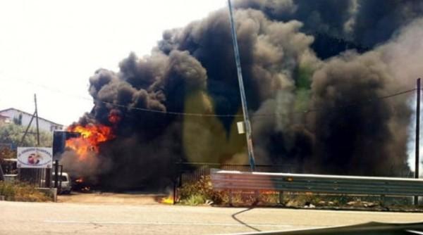 Пожары в Кампании, первая жертва в Джульяно-ин-Кампанья