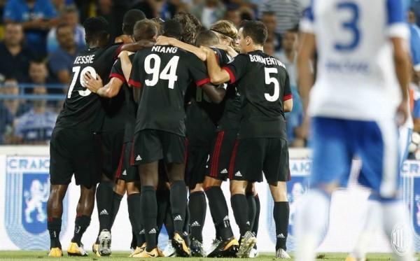матч в еврокубках сезона 2017/2018 провел «Милан»