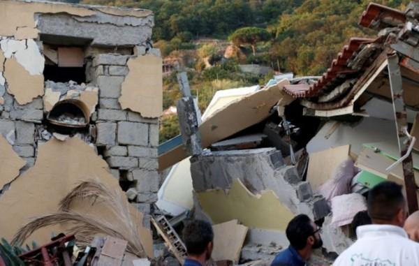На острове Искья произошло землетрясение магнитудой 4.0