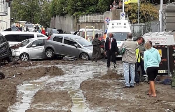 Из-за наводнения в центральной Италии погибли шесть человек