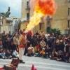 Фестиваль уличных артистов в Неаполе: возвращение в детство