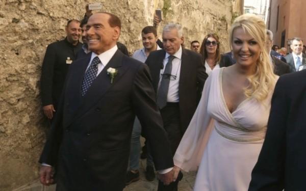 Берлускони свидетель на свадьбе в Равелло