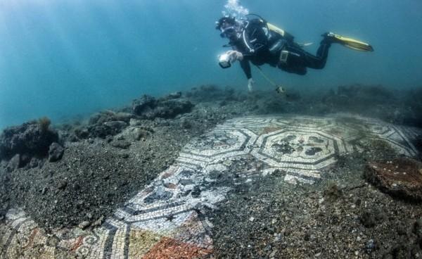 Археологический парк Байя: найдены две новые мозаики