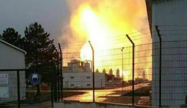 Взрыв на газовом терминале в Австрии