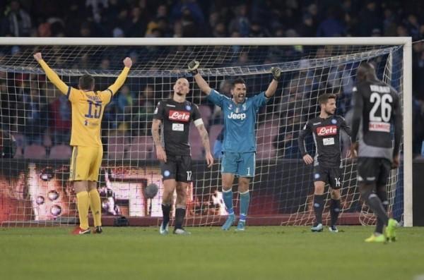 Первое поражение ФК «Наполи» в чемпионате Италии