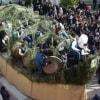 Казерта. Праздник Sant'Antuono 2018 в Мачерата-Кампанья: парад бочек «Battuglie di Pastellessa»