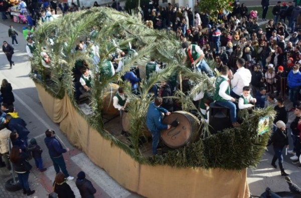 Казерта. Праздник Sant'Antuono 2018 в Мачерата-Кампанья