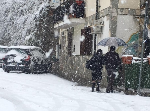 День Влюбленных на Амальфитанском побережье: послания любви на снежном