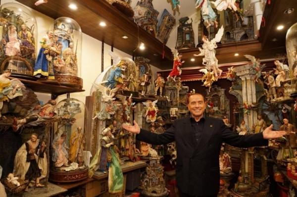 """Лидер """"Форца Италия"""" Сильвио Берлускони прибыл в Неаполь"""
