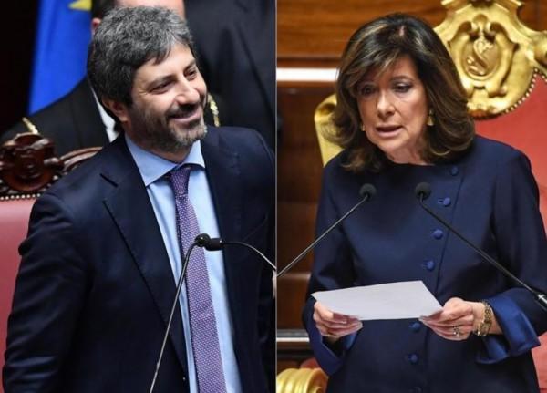 Парламент �талии: впервые председателем Сената стала женщина