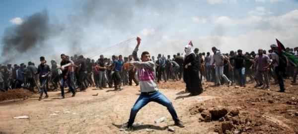 Открыто посольство США в �ерусалиме: палестинцы протестуют