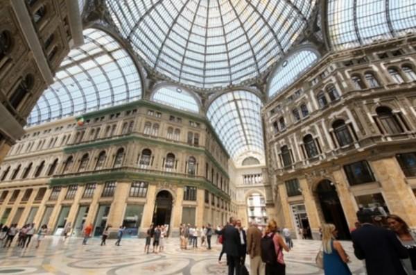 Далее дорога приведет к памятке архитектуры XIX века – галерею Умберто