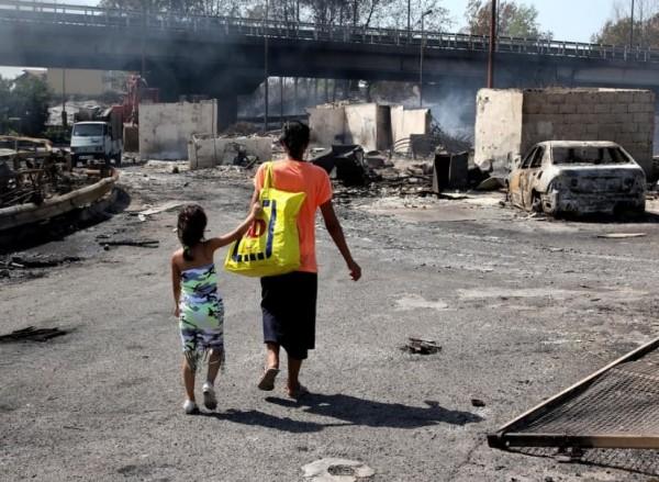 Неаполь. Цыганские поселения растут как грибы
