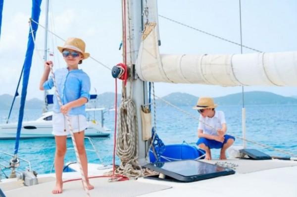 День парусного спорта в Неаполе: морские прогулки для детей