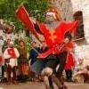 Вентимилье. Исторический рыцарский турнир «Средневековый август»