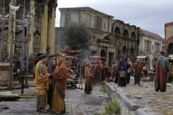 На киностудии Чинечитта сгорели декорации Древнего Рима